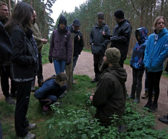 Identifying edible plants