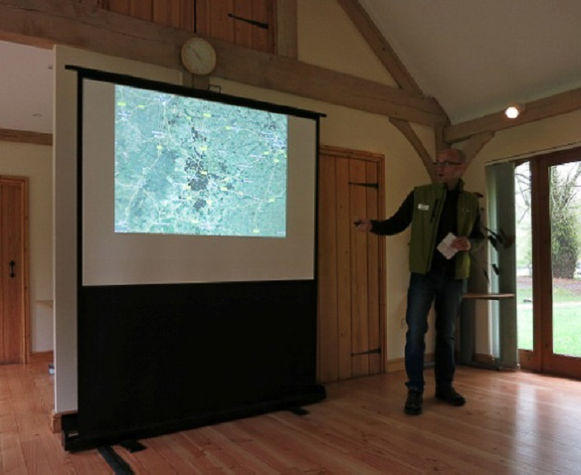 Nick Moran explains the significance of Thetford Forest