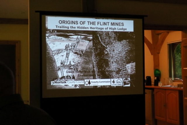 Presentation about the flint mining