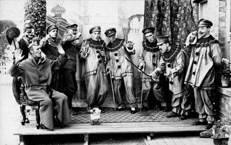 The Woodpeeckers Pierrot Troupe