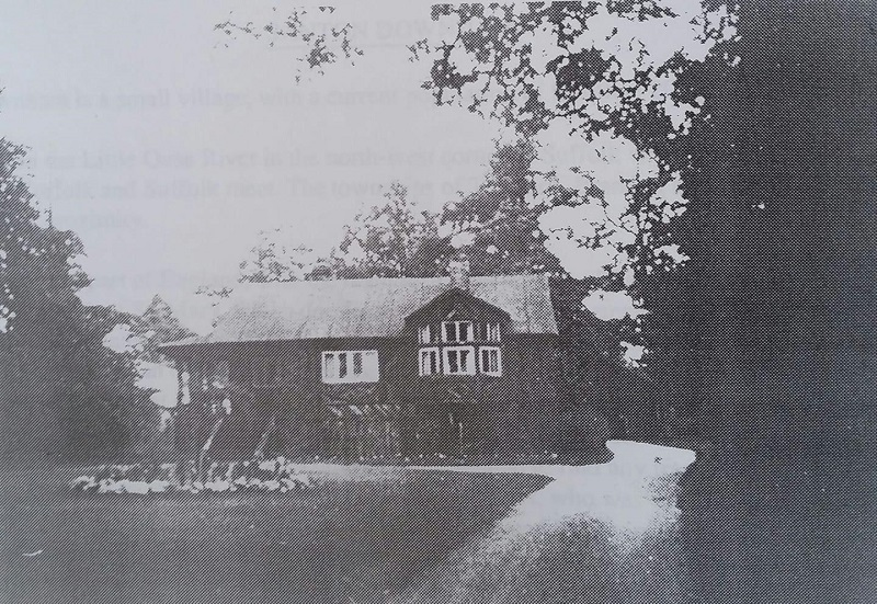 One of the other houses built by the Downham Syndicate & Construction Company, first occupied by the Woods then in the 50's by the Thorpes known as the Chalet.
