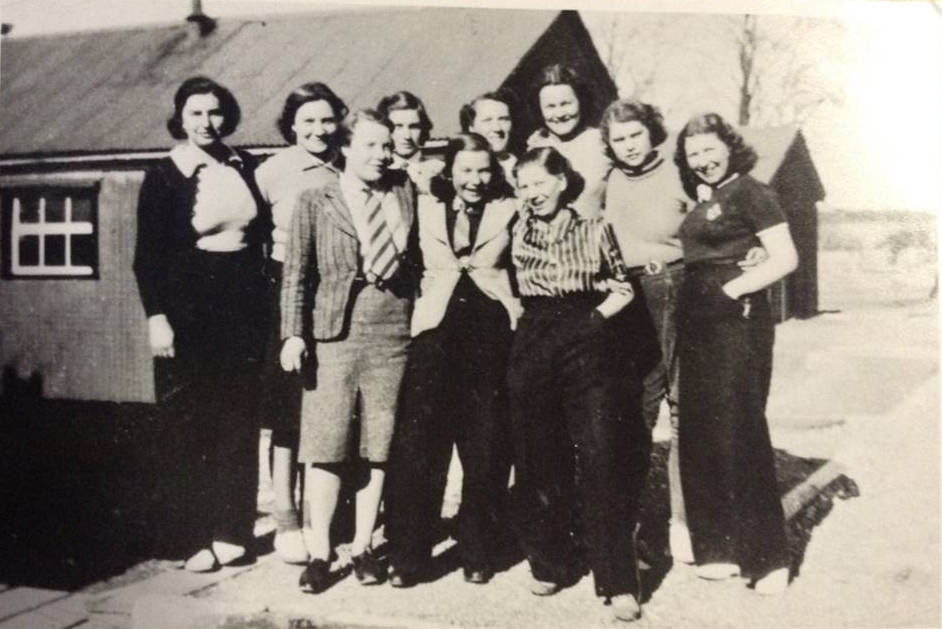 Women's Land Army (WLA) AKA Lumberjills