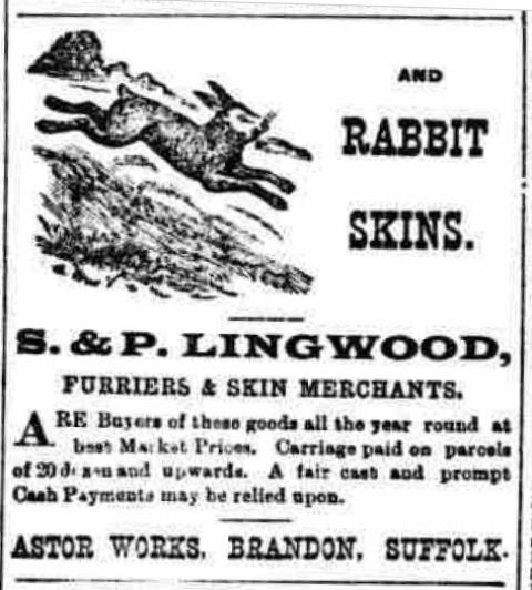 Lingwood advert