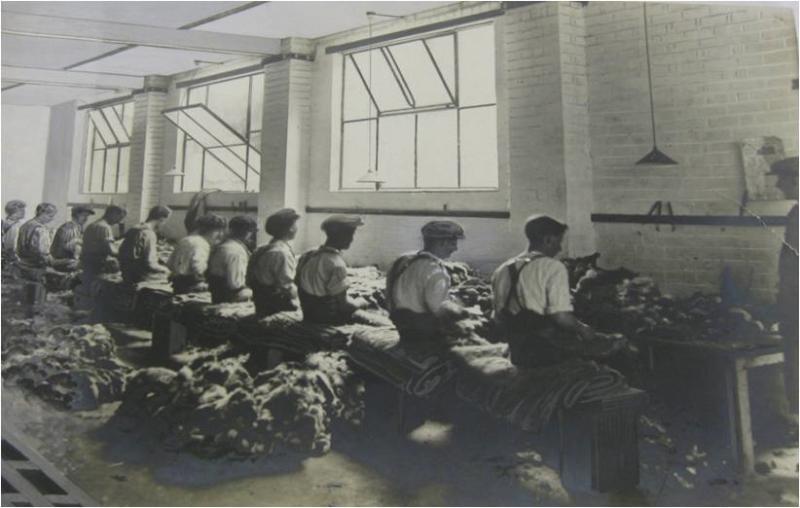 Furriers at work