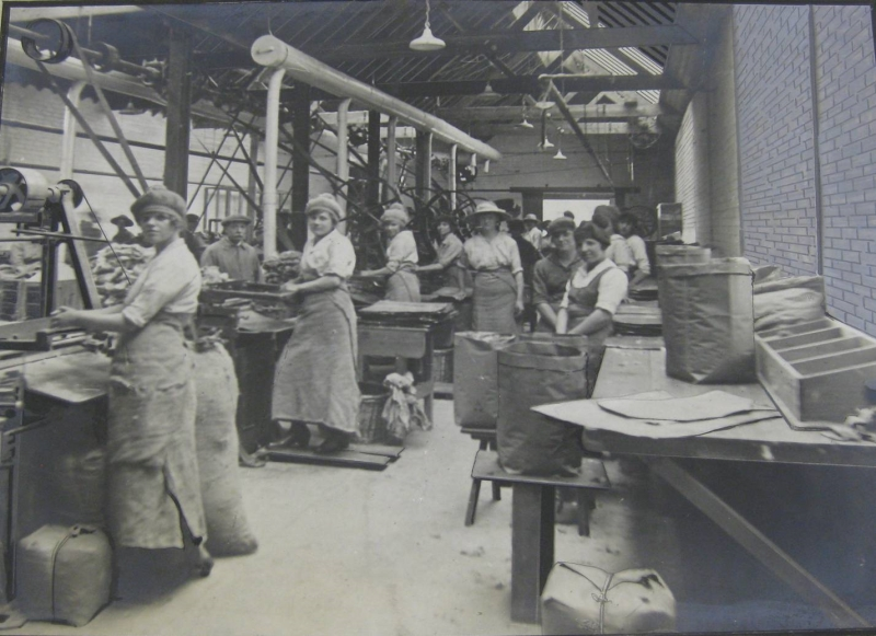 The production line